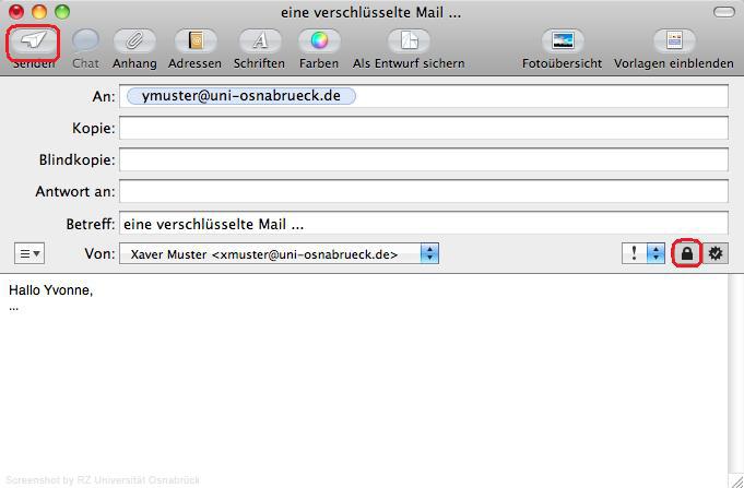Signieren und Verschlüsseln mit Apple Mail - Rechenzentrum ...