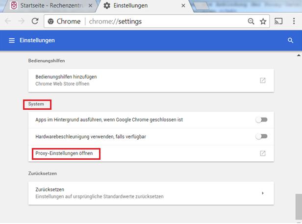 Google chrome proxy skript wird heruntergeladen