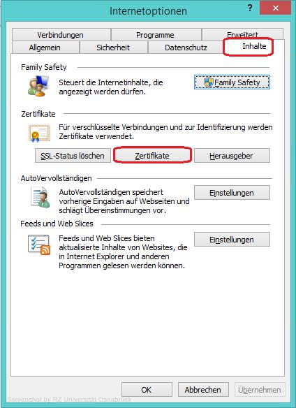 Zertifikate aus Browser exportieren - Rechenzentrum Universität ...